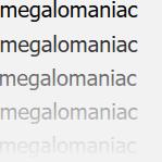 L'avatar di megalomaniac