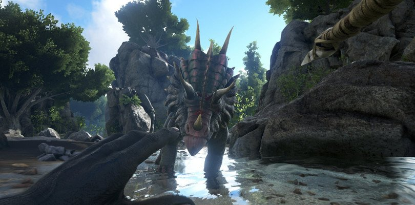 ark survival evolved trailer lancio ps4