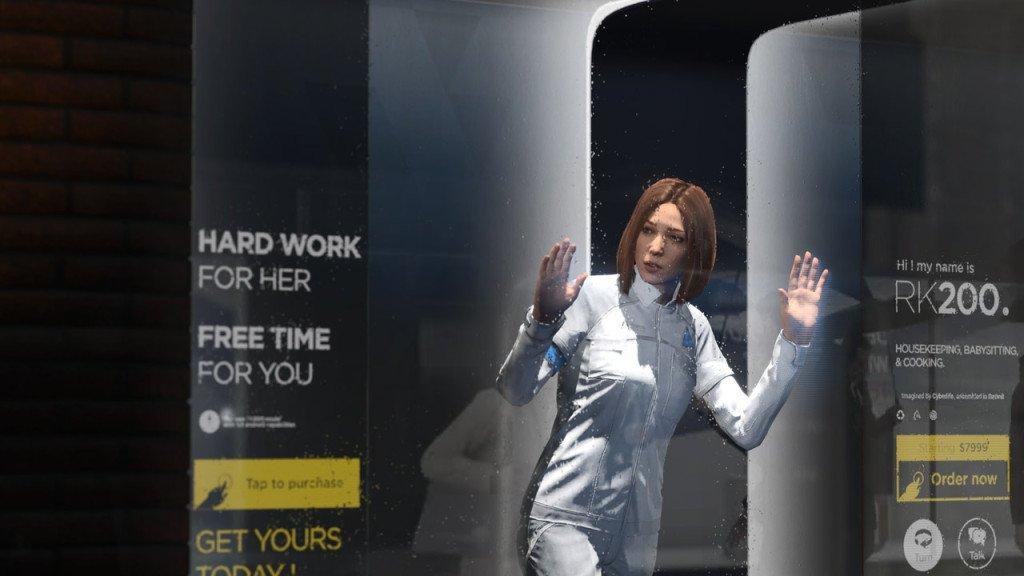 detroit become human quantic dream realtà virtuale