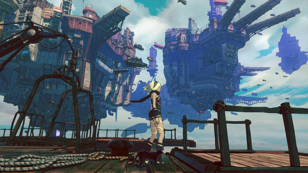 Gravity Rush 2 trailer tgs 2016