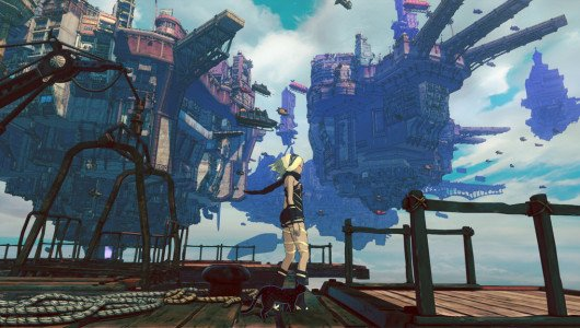 Gravity Rush 2 teaser trailer anime