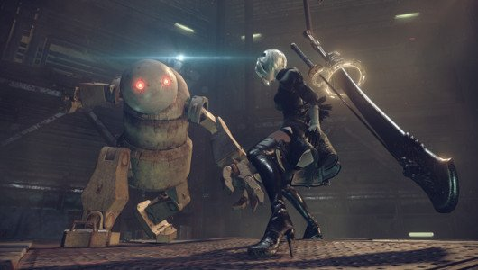 NieR Automata video gameplay