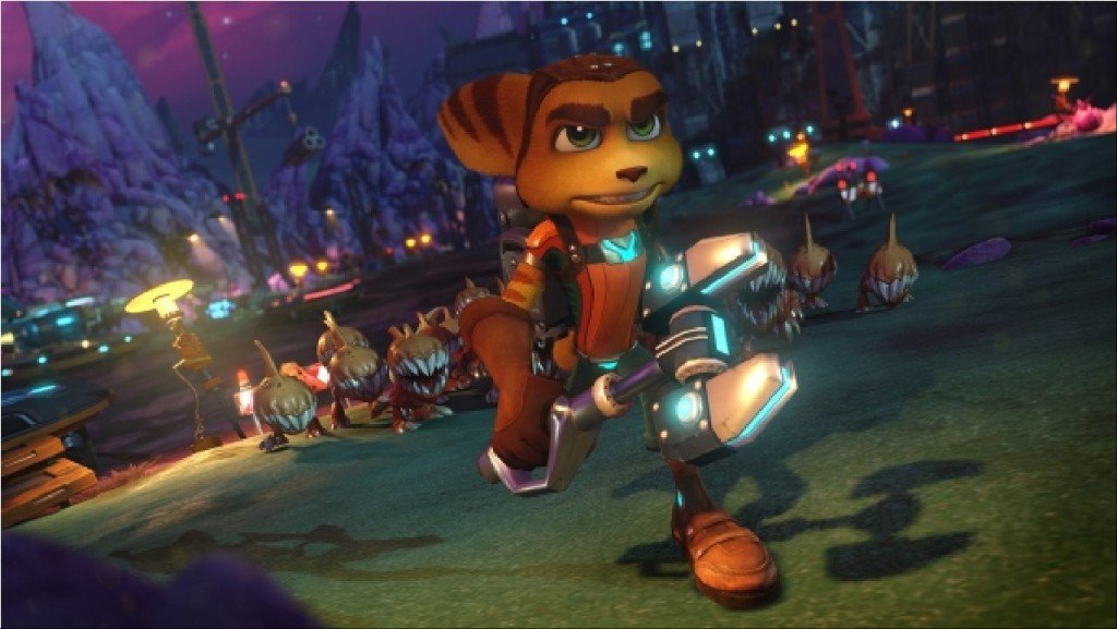 Ratchet & Clank gold Story Trailer Sony Insomniac