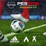 PES 2016: disponibile il quarto Data Pack