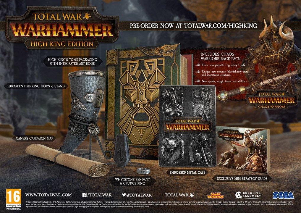 Total War: Warhammer High King Edition news