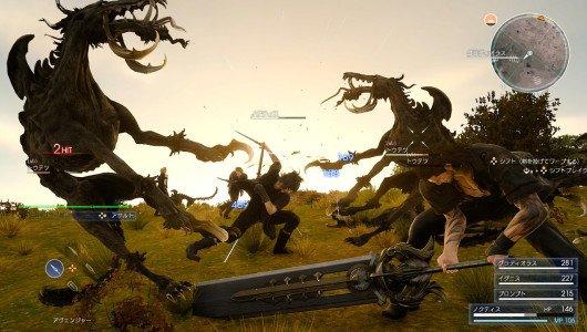 Final Fantasy XV video moguri