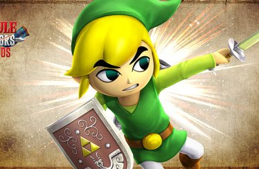 Hyrule Warriors Legends: Link Cartone in video