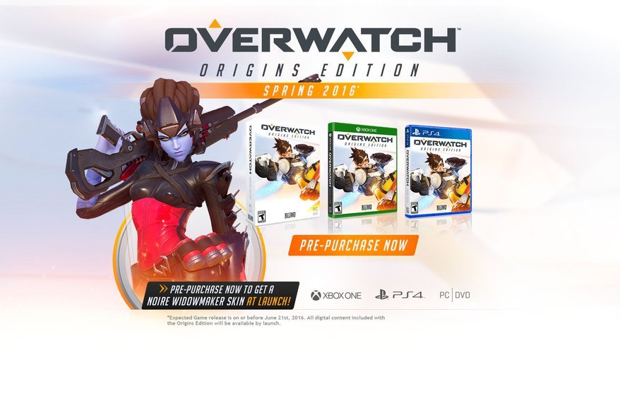 Overwatch Origins Edition news
