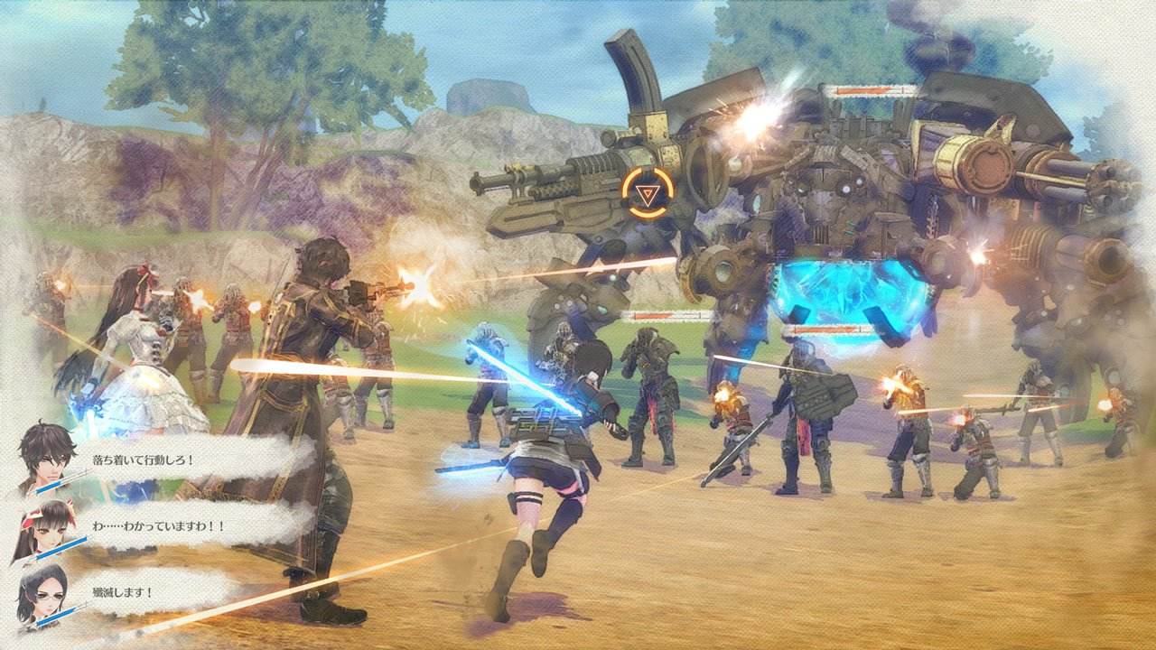 Valkyria Azure Revolution: dettagli Battle Demo 2.0 ad agosto