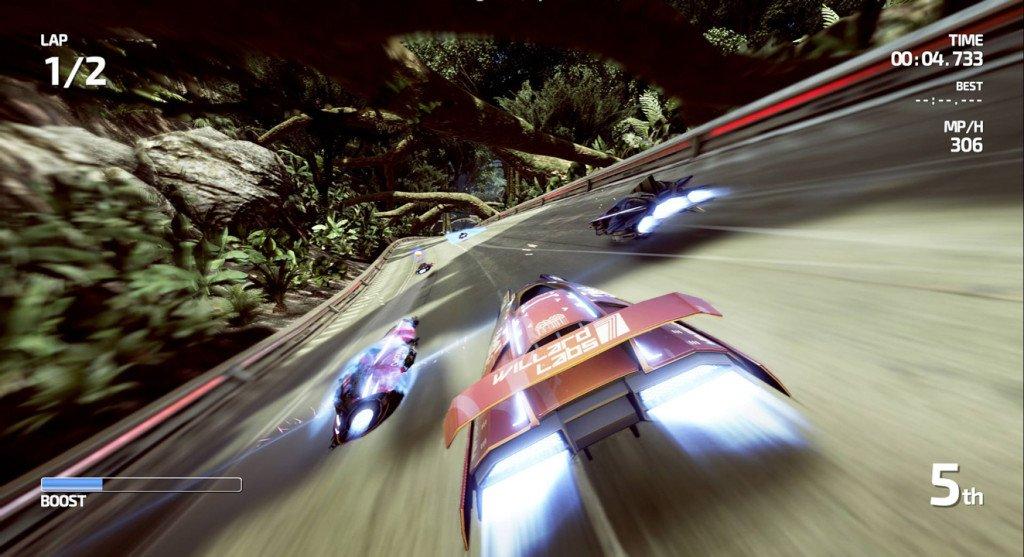 Nintendo eshop Select Wii U fast racing neo