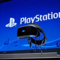 sony headset VR
