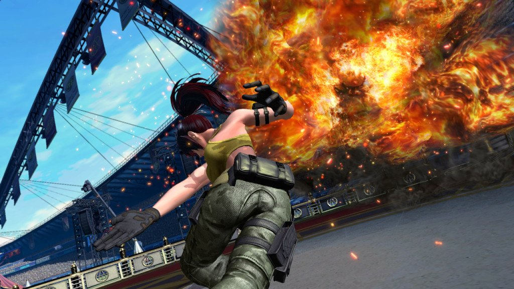 The King of Fighters XIV aggiornamento grafico