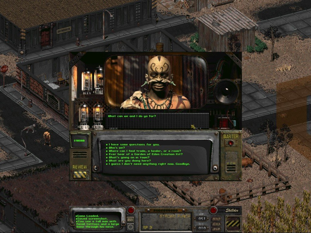 Fallout e Fallout 2 sono invecchiati benissimo. Lo stile continua a traboccare da ogni pollice di schermo.
