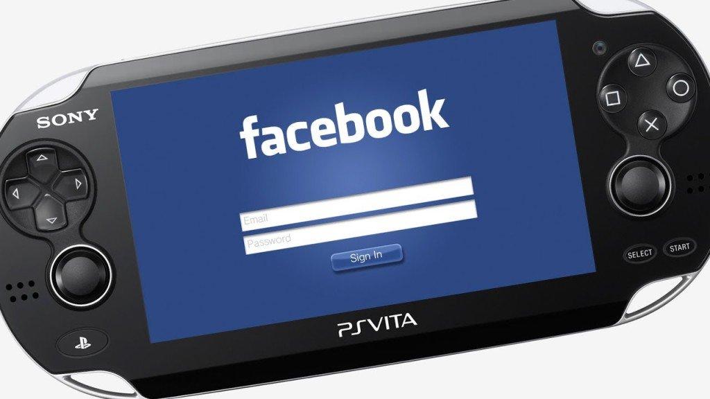 Facebook PlayStation Vita news