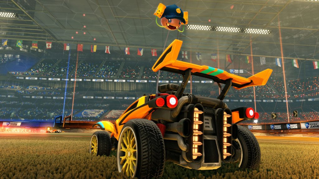 Rocket League Sunset Overdrive news