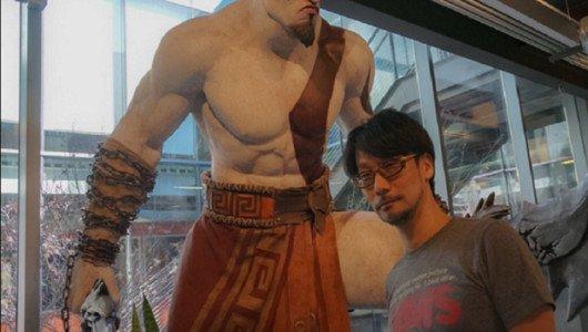 Hideo Kojima in visita negli studi di Sony Santa Monica