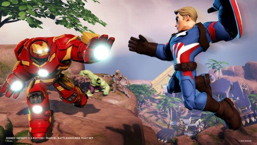 Disney Infinity 3.0: disponibile Play Set Marvel Battlegrounds