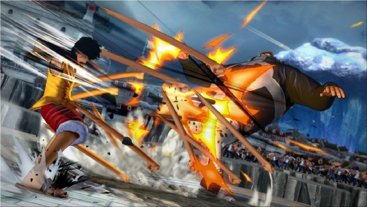 One Piece Burning Blood: Rob Lucci, Caesar Clown, Monkey D. Garp