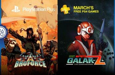 Broforce, Galak-Z e altro per il PlayStation Plus di marzo