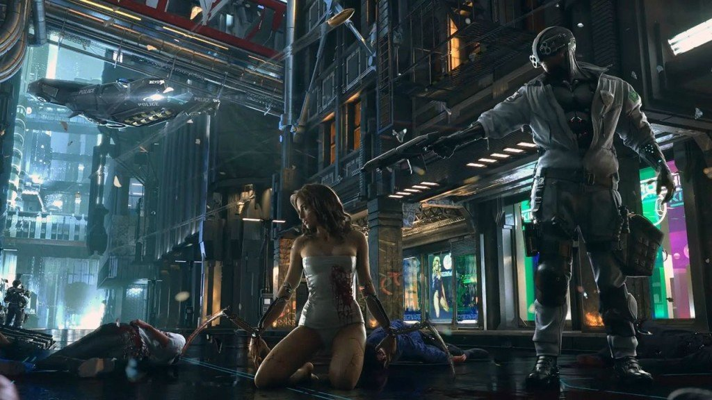 Cyberpunk 2077 cd projekt red e3 2018
