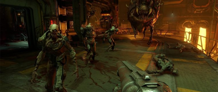 DOOM sparatutto pc ps4 xbox one