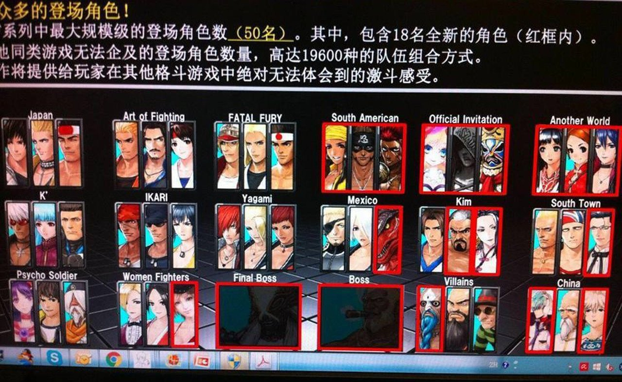 King-of-Fighters-XIV-Characters-News