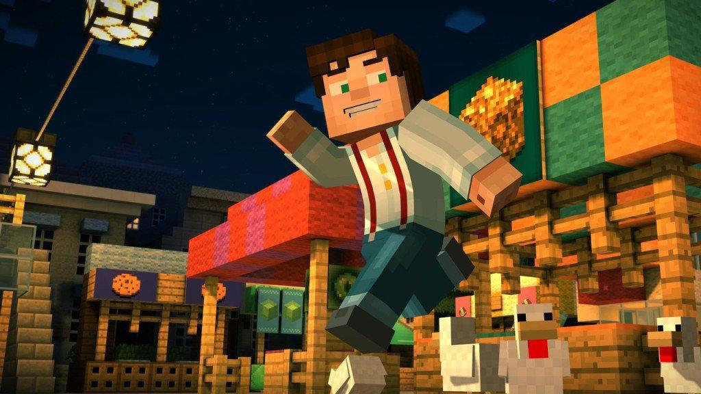 Minecraft Story Mode edizione foramto fisico