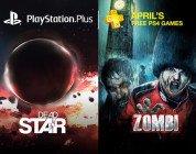 PlayStation Plus: Dead Star e Zombi tra le novità di aprile