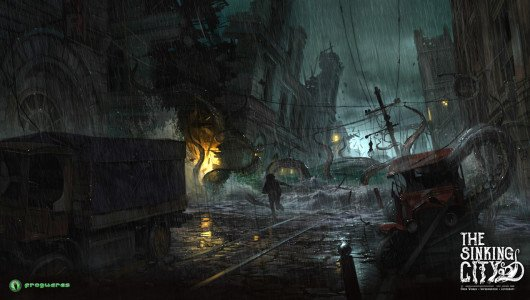 the sinking city trailer e3