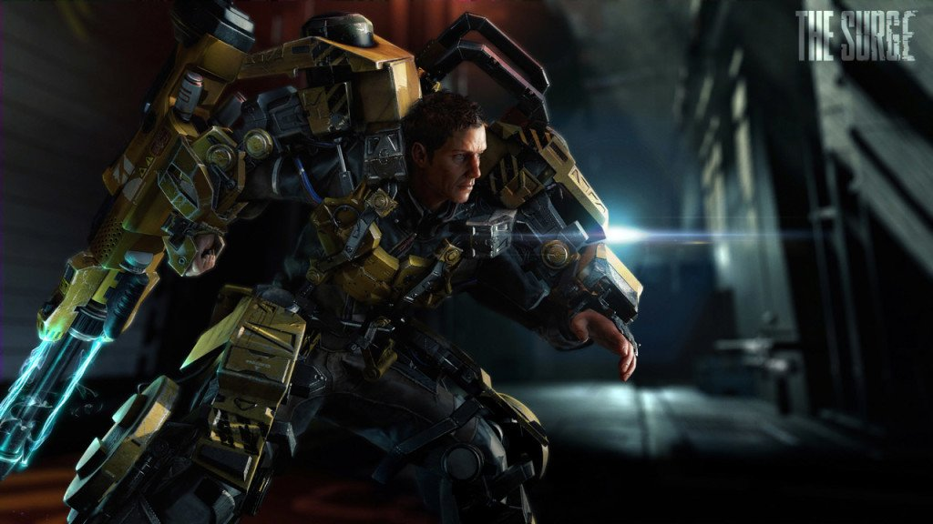 The Surge gold ps4 pro