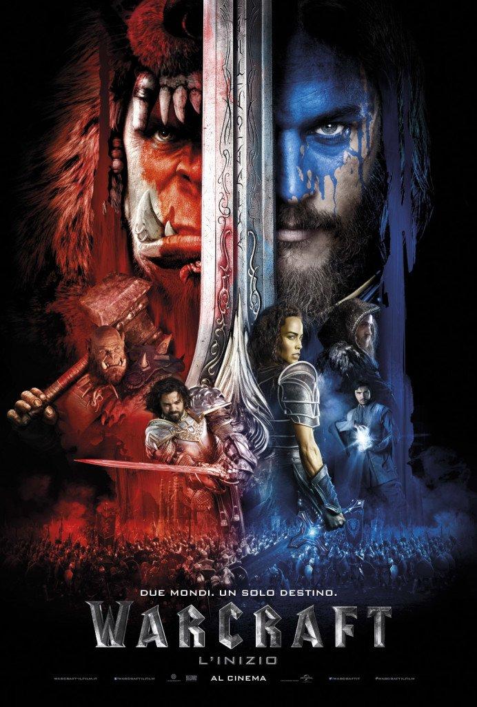 Warcraft l'inizio locandina