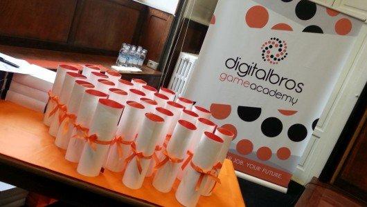 digital bros game academy graduation day