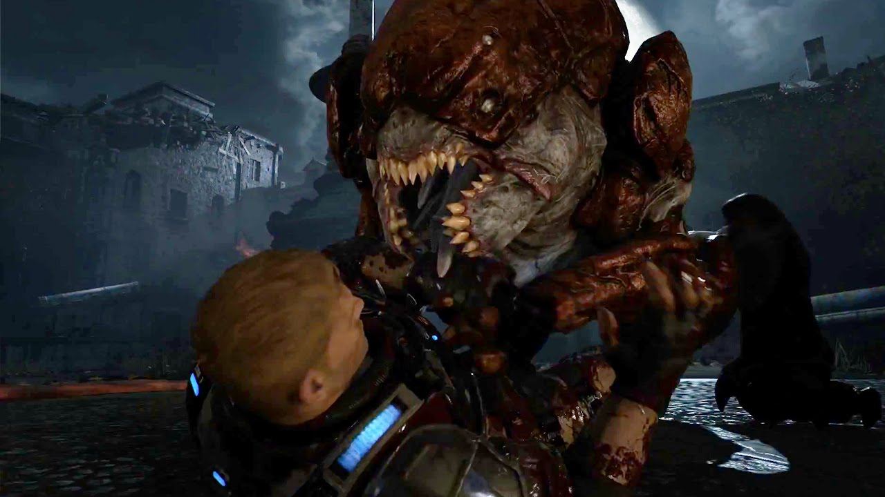 Gears of War 4 gameplay video