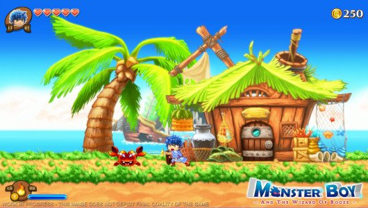 Monster Boy and the Cursed Kingdom uscirà anche su Nintendo Switch
