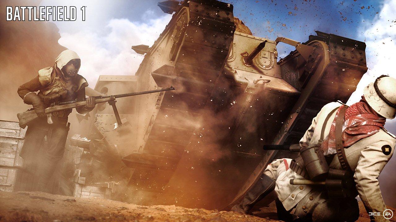 Battlefield-1 gameplay multiplayer