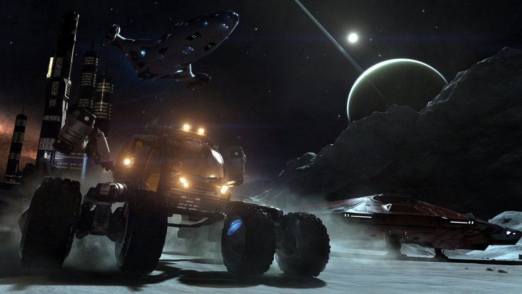 Elite Dangerous planet coaster formato fisico