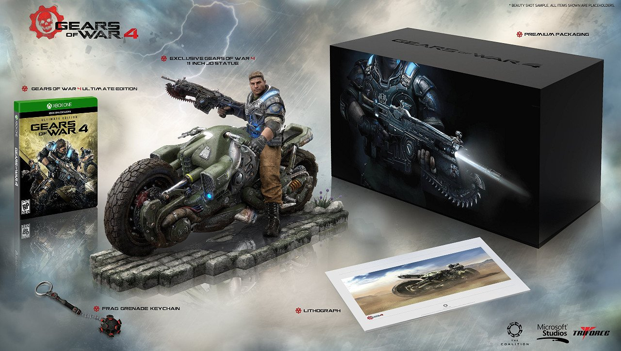 Gears of War 4: annunciata la Collector's Edition