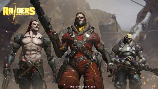 Raiders of the Broken Planet: un gameplay di 17 minuti