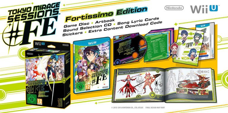 Tokyo Mirage Sessions #FE Limited Edition Fortissimo Edition