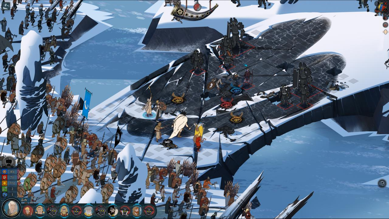 the banner saga 2 rpg anteprima pc
