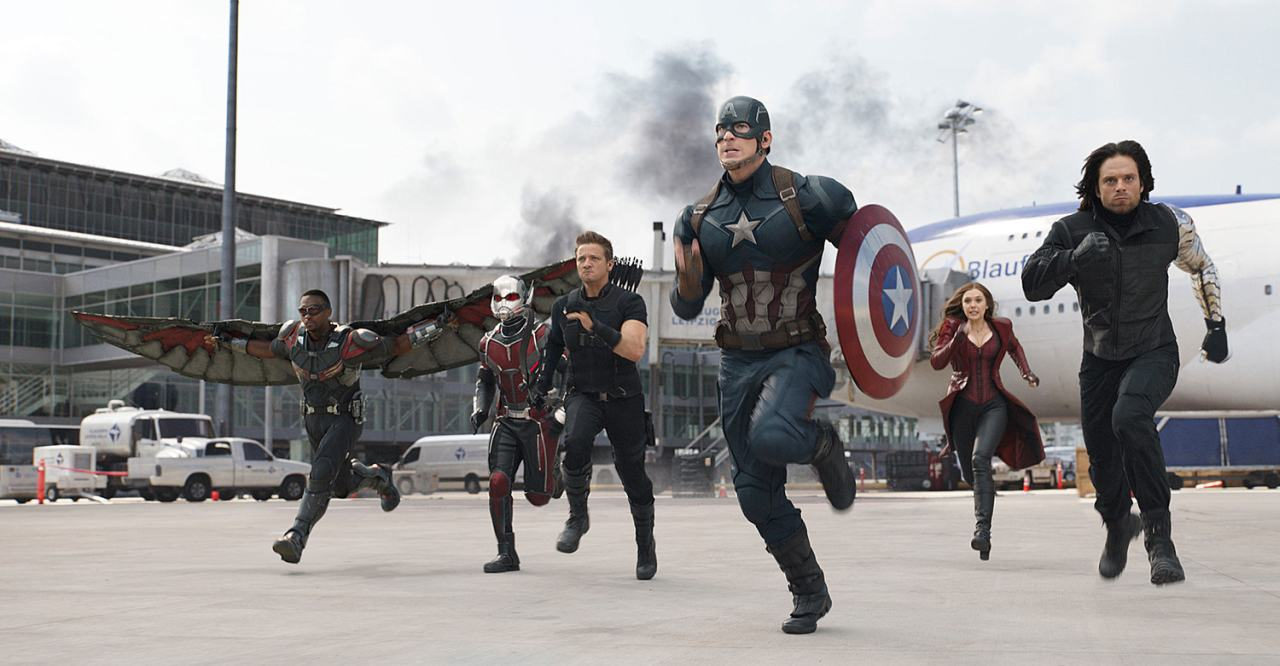 Captain America Civil War sbanca al box office americano