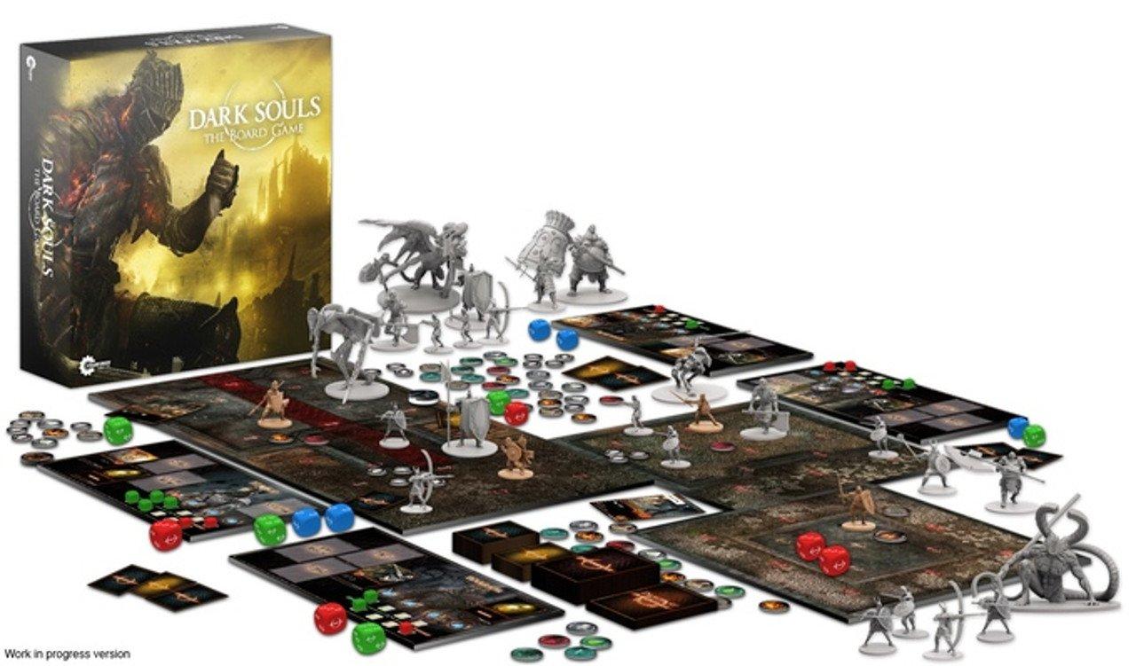 Dark Souls: il gioco da tavolo finanziato in tre minuti
