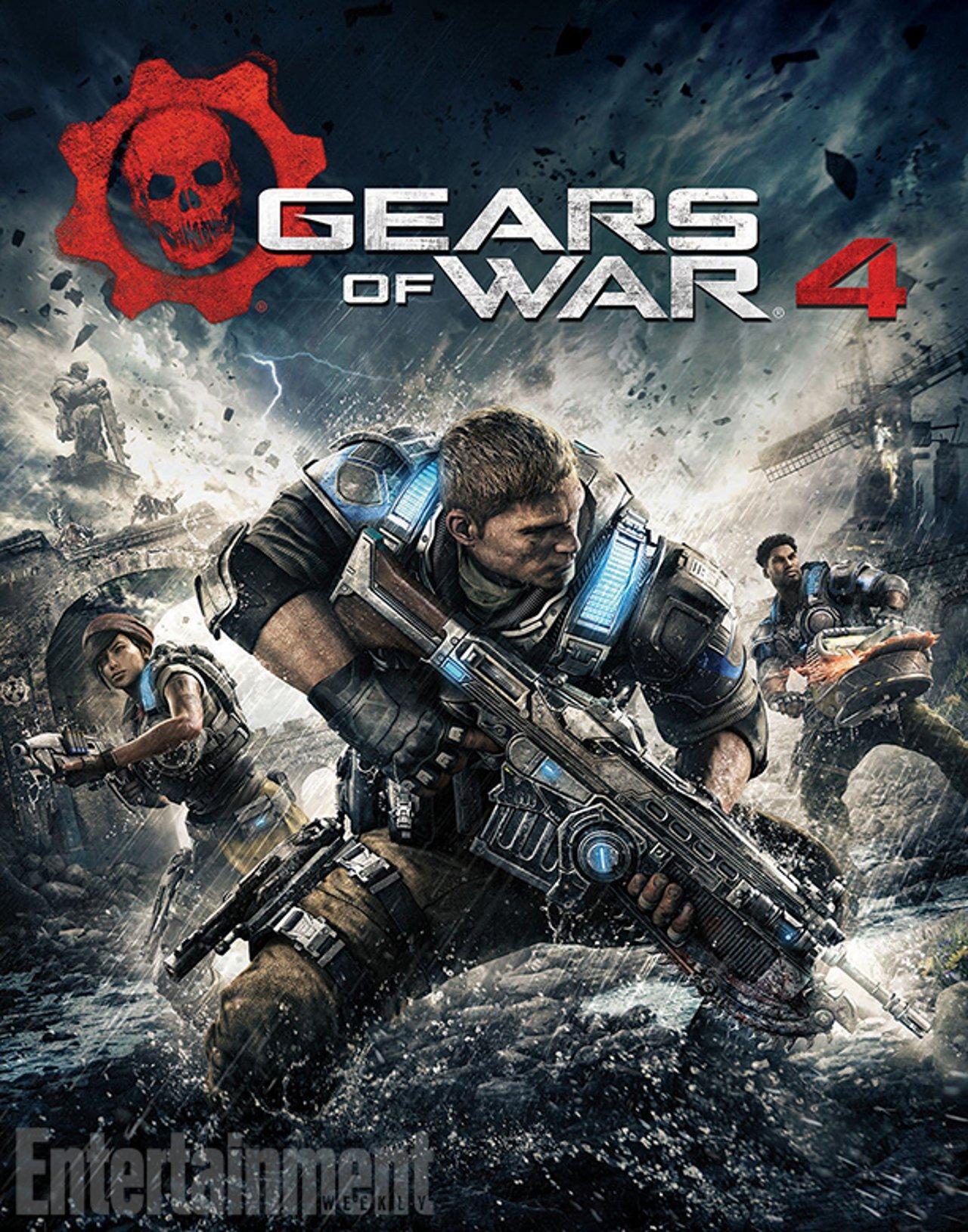 Gears of War 4: rivelata data d'uscita, cover art, e altre info