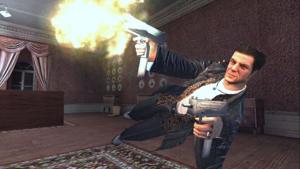 Max Payne remedy entertainment bullet time
