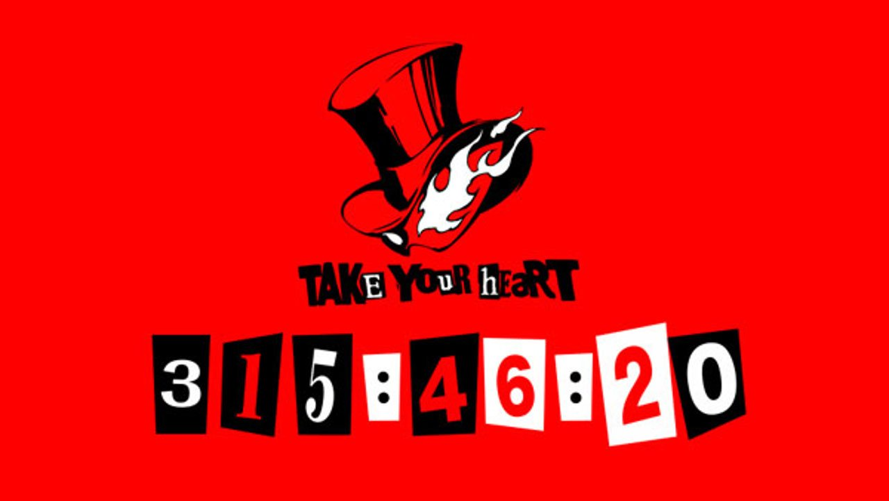 Persona 5: lanciato un misterioso countdown