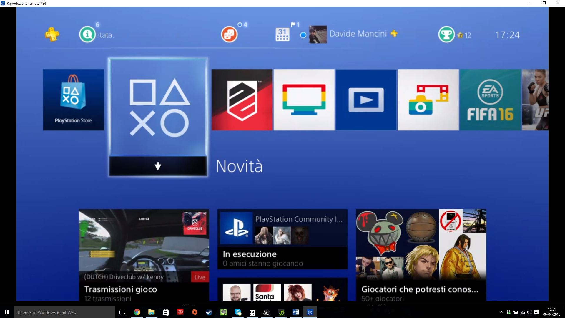 ps4 firmware remote play