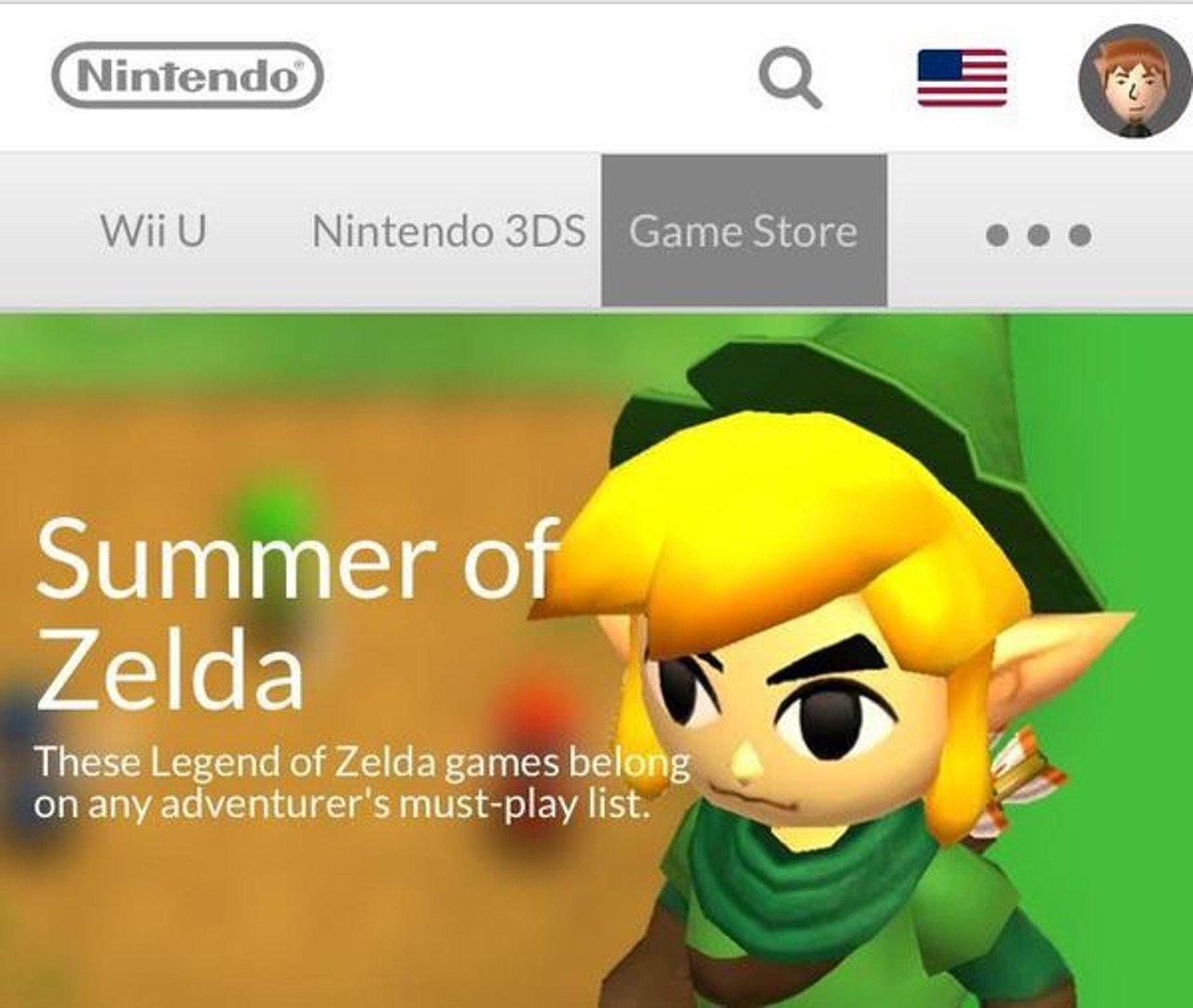 Nintendo sta preparando una serie di sconti a tema Zelda
