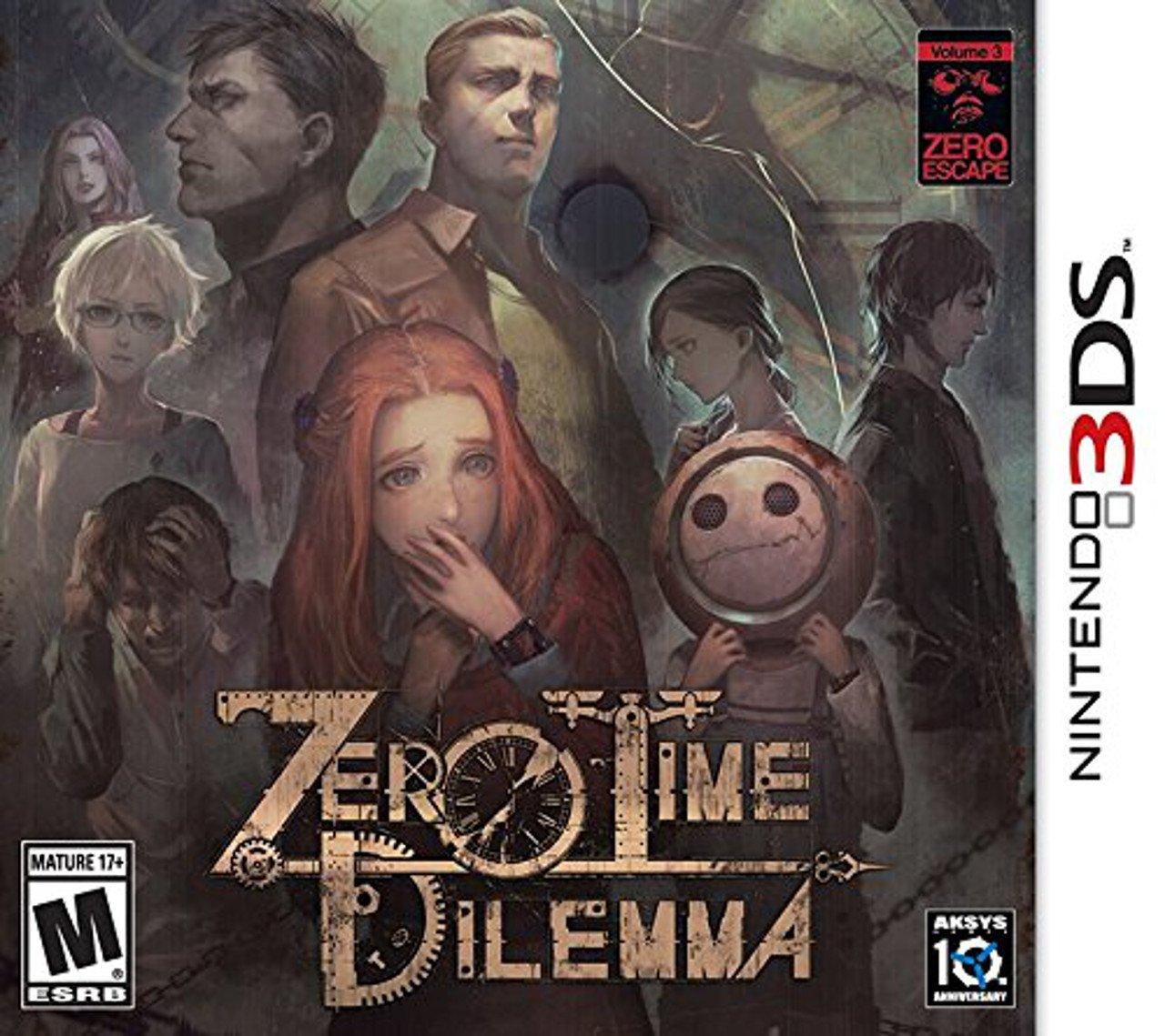 Zero Time Dilemma: rivelata la copertina ufficiale