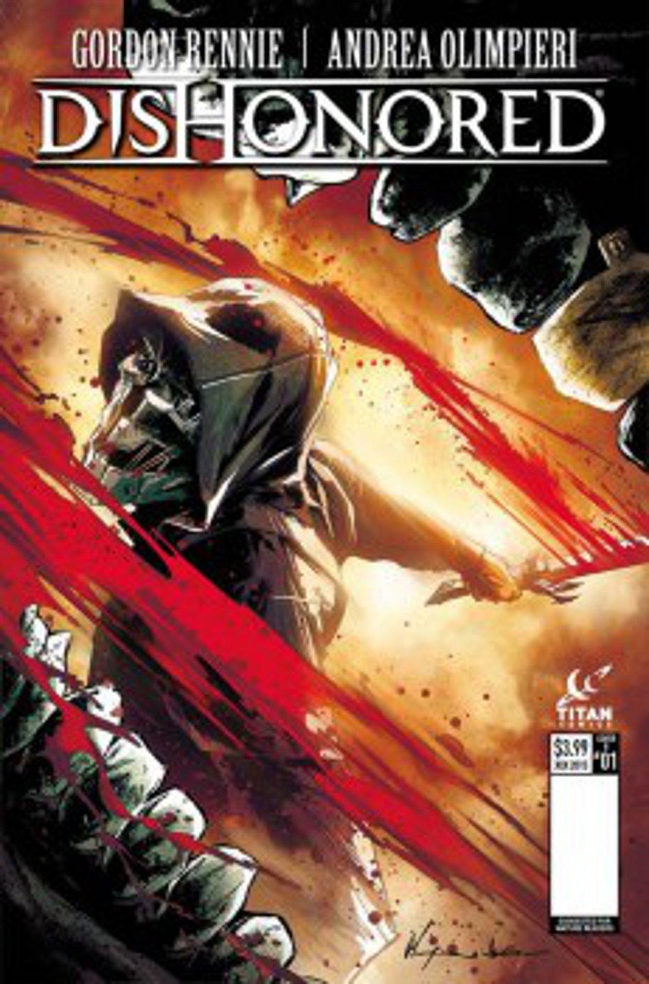 Dishonored avrà una sua serie a fumetti