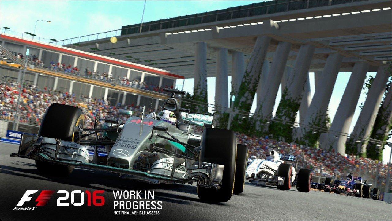 F1 2016: annunciato il supporto multiplayer per 22 giocatori